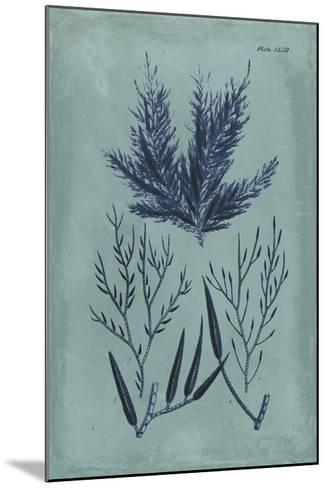 Indigo & Azure Seaweed I-Vision Studio-Mounted Giclee Print