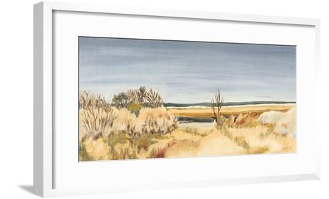 The Sound Shoreline II-Dianne Miller-Framed Art Print