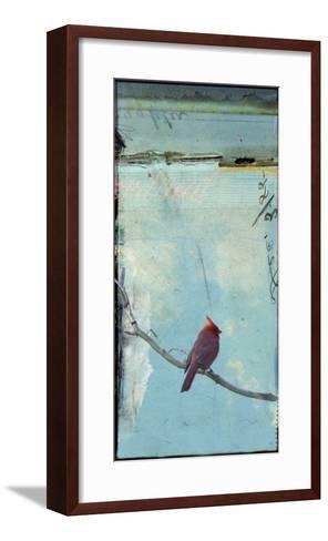 Bird Window I-Ingrid Blixt-Framed Art Print
