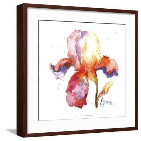 Blooms Hermanas II-Leticia Herrera-Framed Art Print