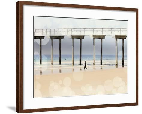 Boardwalk I-Sylvia Coomes-Framed Art Print