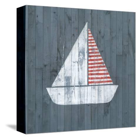 Nautical Plank I-Grace Popp-Stretched Canvas Print