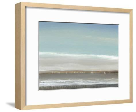 Distant Coast I--Framed Art Print
