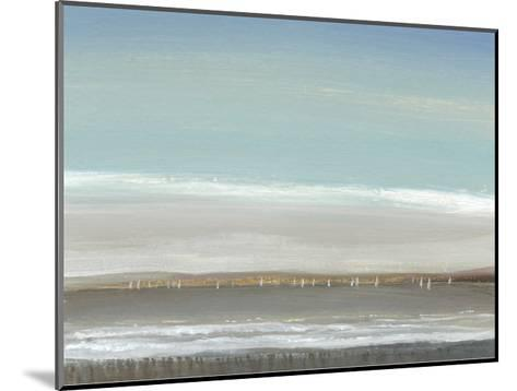Distant Coast I--Mounted Art Print