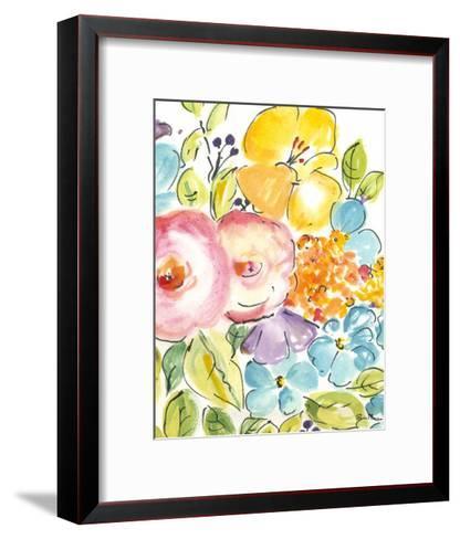 Flower Delight IV-Julia Minasian-Framed Art Print