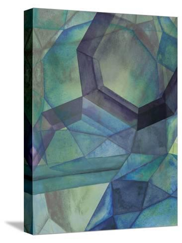 Gemstones III-Grace Popp-Stretched Canvas Print