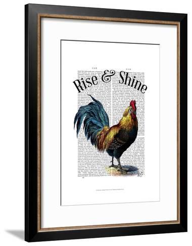 Rise and Shine-Fab Funky-Framed Art Print