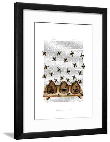 BeeHive Print-Fab Funky-Framed Art Print
