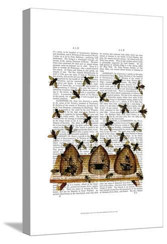 BeeHive Print-Fab Funky-Stretched Canvas Print