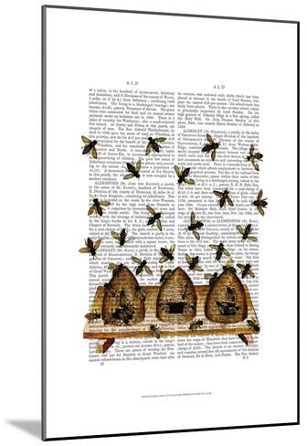 BeeHive Print-Fab Funky-Mounted Art Print