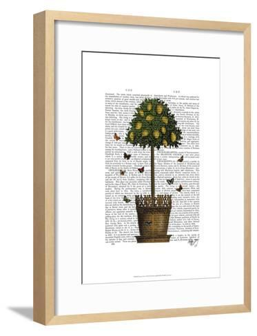 Lemon Tree-Fab Funky-Framed Art Print