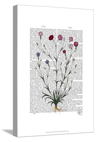 Italian Carnation 5-Fab Funky-Stretched Canvas Print