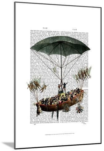Diligenza And Flying Creatures-Fab Funky-Mounted Art Print