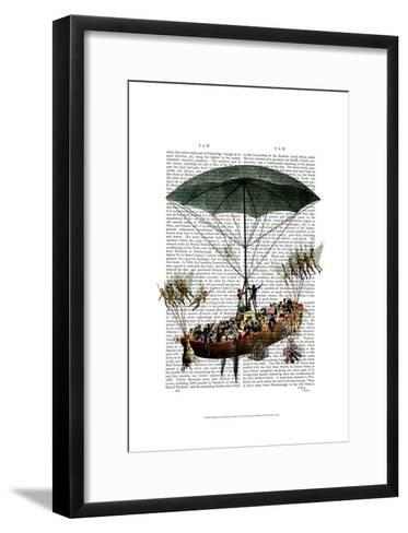 Diligenza And Flying Creatures-Fab Funky-Framed Art Print