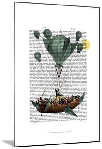 Diligenza Per La Luna-Fab Funky-Mounted Art Print