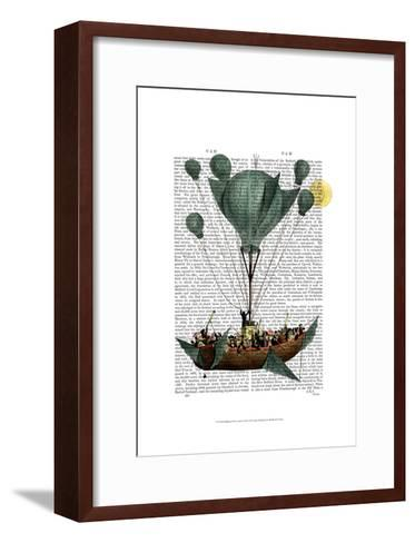 Diligenza Per La Luna-Fab Funky-Framed Art Print