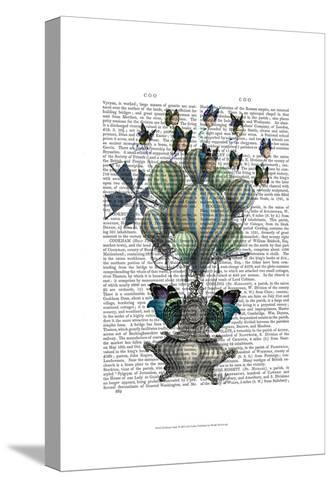 Flutter Time-Fab Funky-Stretched Canvas Print