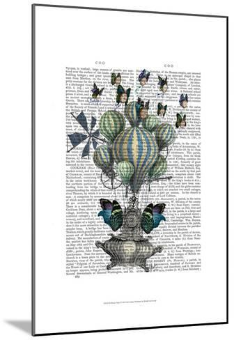 Flutter Time-Fab Funky-Mounted Art Print