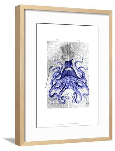 Octopus About Town-Fab Funky-Framed Art Print