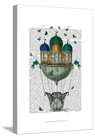 Butterfly House-Fab Funky-Stretched Canvas Print