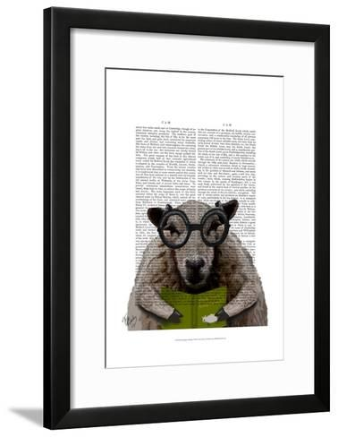 Intelligent Sheep-Fab Funky-Framed Art Print