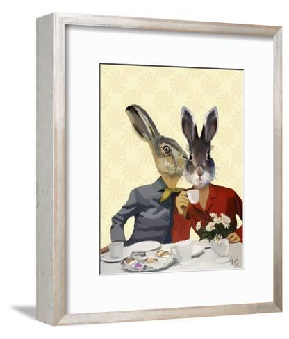 Ladies Gossiping-Fab Funky-Framed Art Print