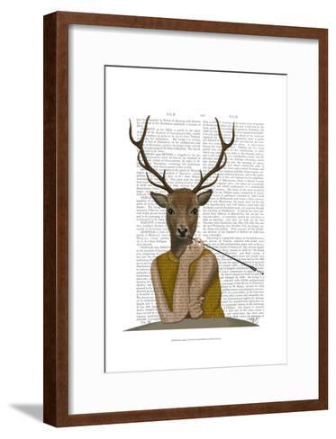 Dear Audrey-Fab Funky-Framed Art Print