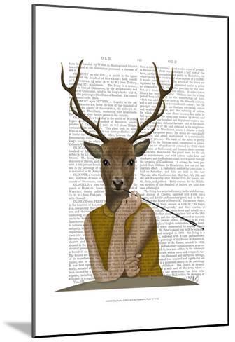Dear Audrey-Fab Funky-Mounted Art Print