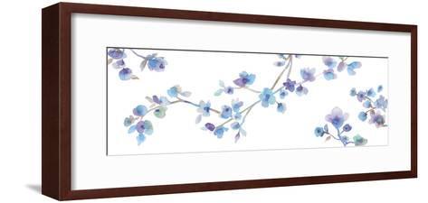 Delicate Blooms-Sandra Jacobs-Framed Art Print