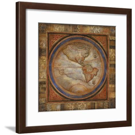 The Americas-Douglas-Framed Art Print
