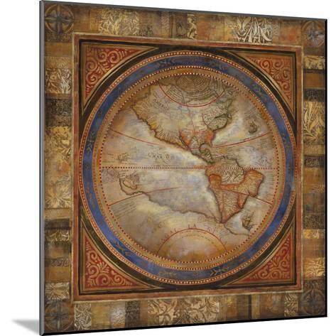 The Americas-Douglas-Mounted Giclee Print