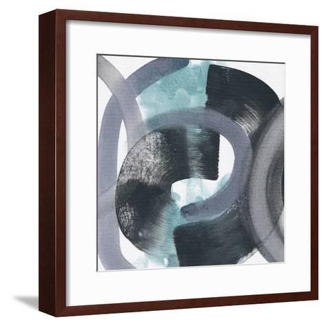 Swimming with Caterpillars-Kim Johnson-Framed Art Print
