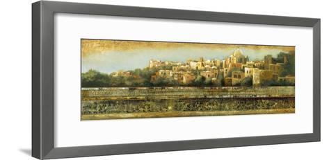The Old Town-Douglas-Framed Art Print