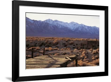 Broken Bridge-Chris Simpson-Framed Art Print