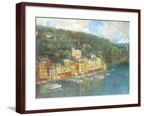 Portofino-Longo-Framed Art Print