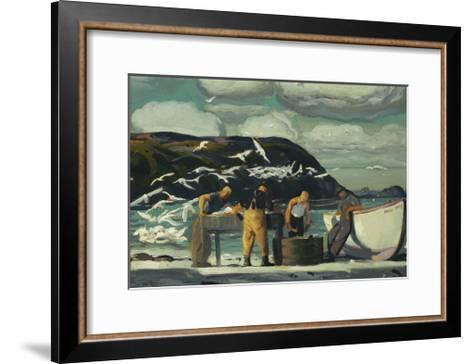 Cleaning Fish-George Wesley Bellows-Framed Art Print
