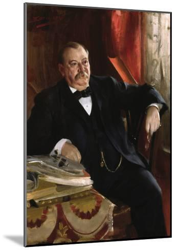 Grover Cleveland-Anders Zorn-Mounted Premium Giclee Print