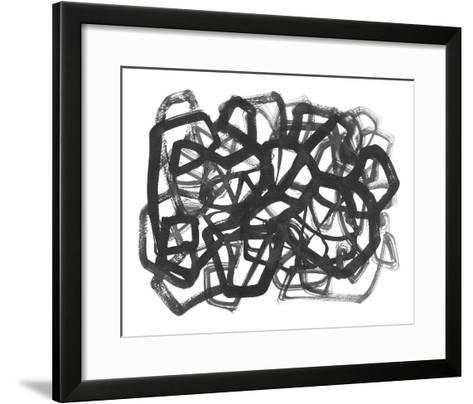 Random I-Kim Johnson-Framed Art Print