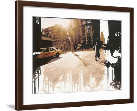 New York Street I-Kris Hardy-Framed Art Print