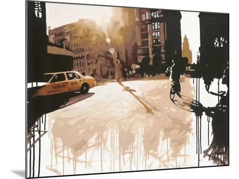 New York Street I-Kris Hardy-Mounted Giclee Print