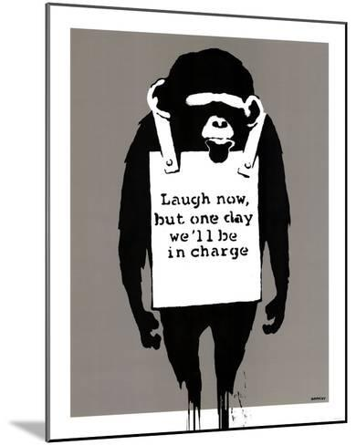 In Charge Monkey--Mounted Art Print