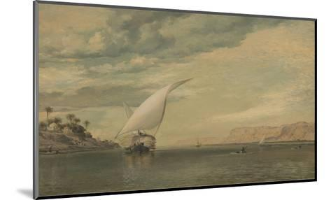 On the Nile-E.W. Cooke-Mounted Premium Giclee Print