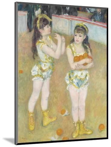 Acrobats at the Cirque Fernando (Francisca and Angelina Wartenberg), 1879-Pierre-Auguste Renoir-Mounted Premium Giclee Print