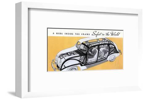 1936 Chrysler Airflow--Framed Art Print