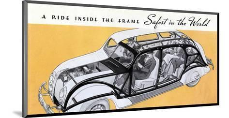 1936 Chrysler Airflow--Mounted Art Print