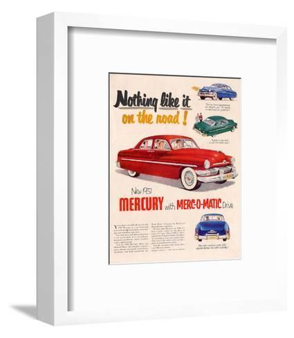 1951Mercury Merc-O-Matic Drive--Framed Art Print