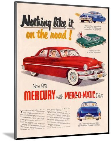 1951Mercury Merc-O-Matic Drive--Mounted Art Print