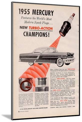 1955 Mercury New Turbo-Action--Mounted Art Print