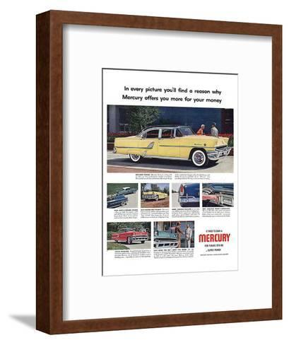 1955 Mercury-Exclusive Styling--Framed Art Print