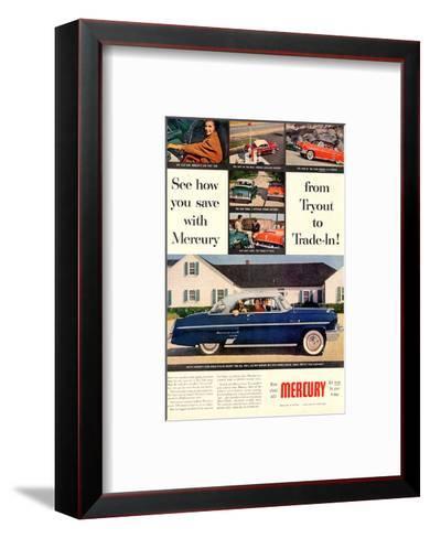 1953 Mercury-See How You Save--Framed Art Print